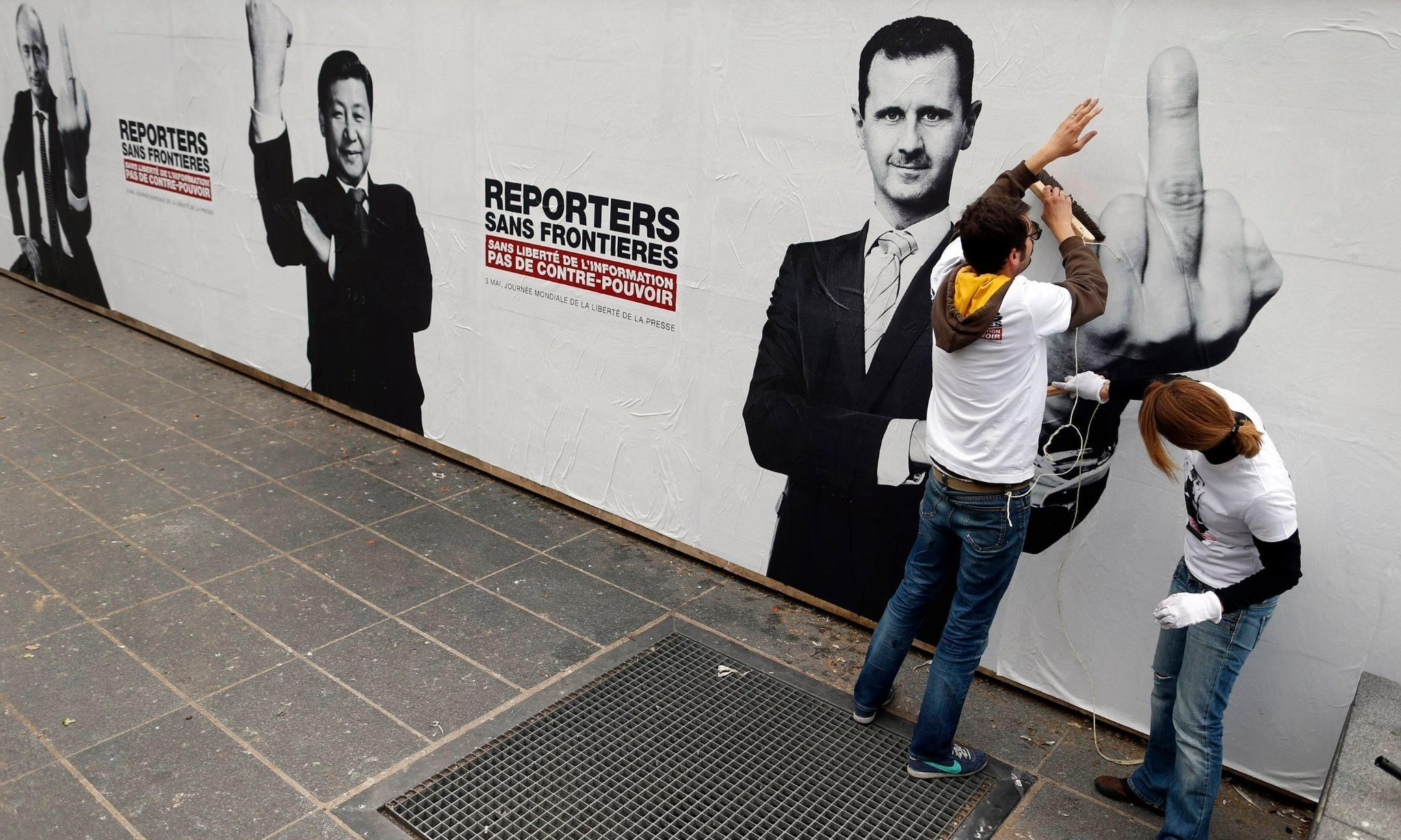 'Era of propaganda': press freedom in decline, says Reporters Without Borders