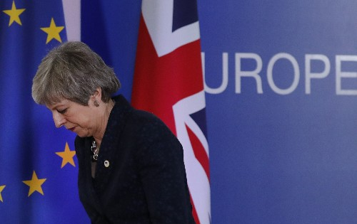 The Latest: UK's May scrambles to win over Brexit critics