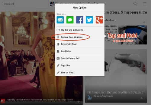 Oops! How to Remove Stories from Your Flipboard Magazines