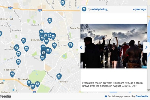 Facebook, Twitter, and Instagram surveillance tool was used to arrest Baltimore protestors