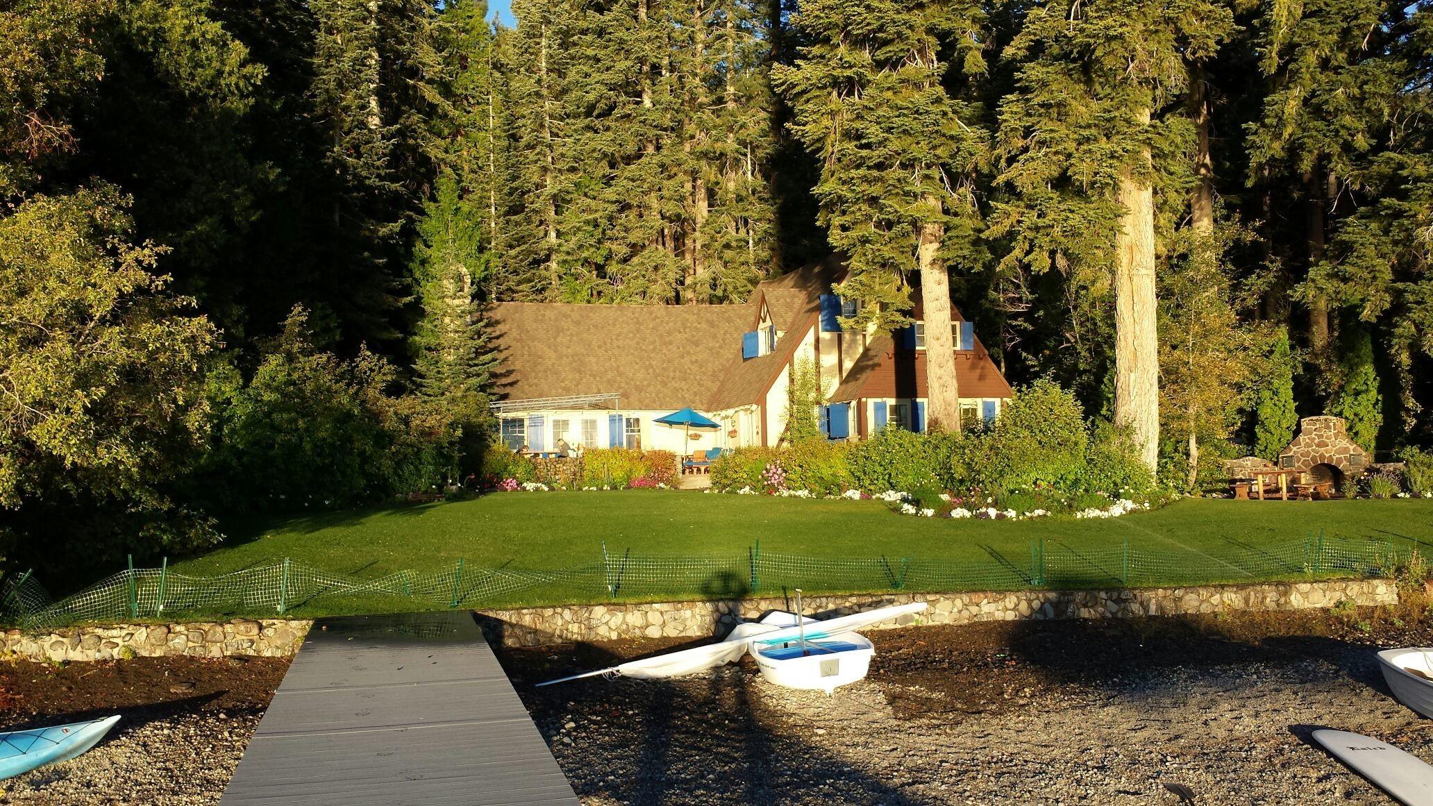 Dan Camp. Sunrise on Lake Tahoe