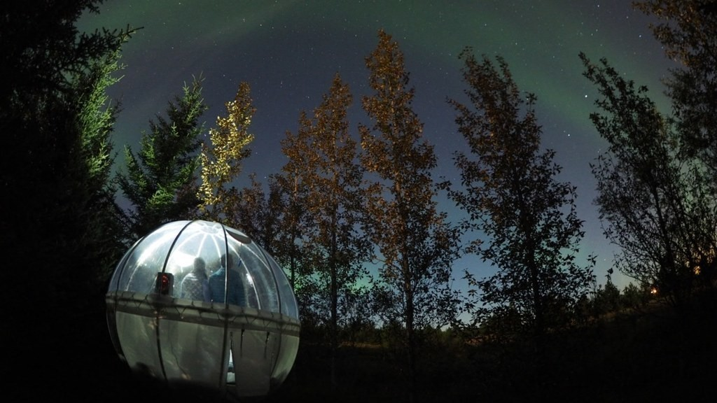 Iceland's '5 Million Star Hotel' Lets You Sleep in a Bubble Under the Northern Lights