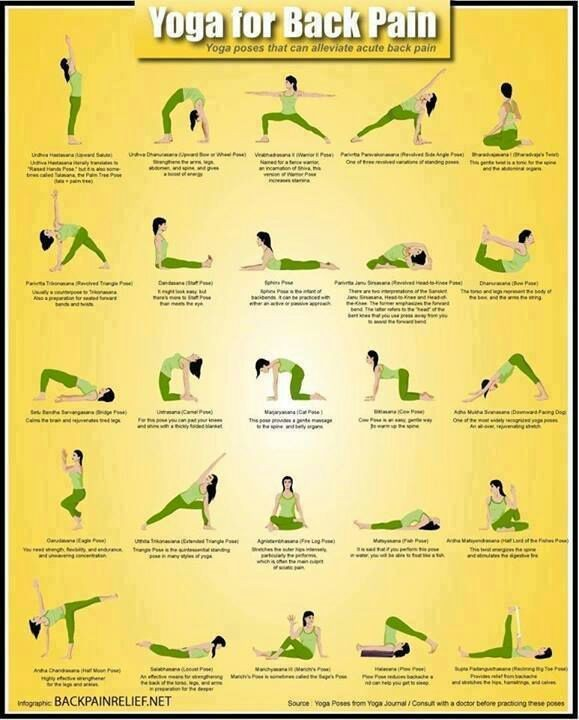 Yoga Helps Back Pain