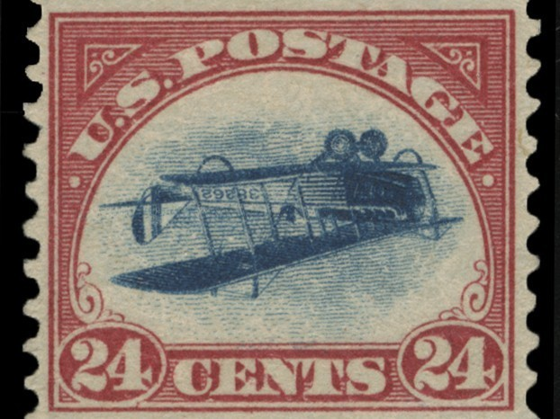 Rare 'Inverted Jenny' Stamp Turns Up 60 Years After Theft