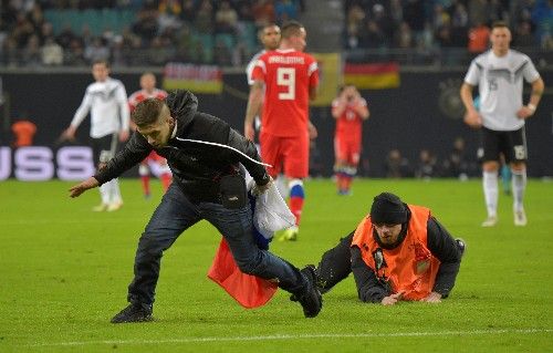 Soccer: New-look Germany ease past Russia 3-0 in friendly