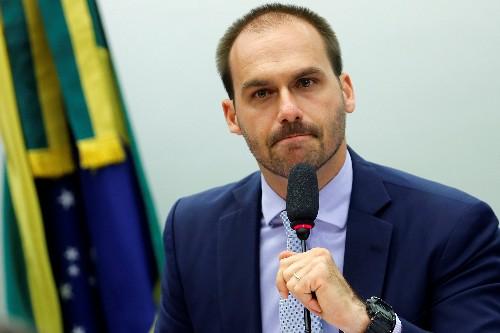 As resistance mounts, Brazil's Bolsonaro sticks by son for U.S. envoy
