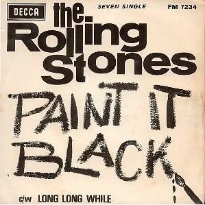 Paint in Black Rolling Stones