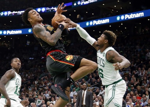 Celtics ride blistering start to easy win over Hawks
