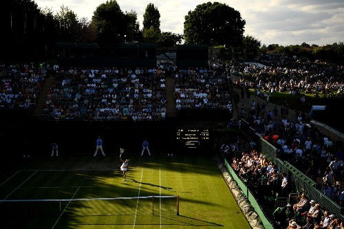 Top Shots from Wimbledon's First Week: Pictures