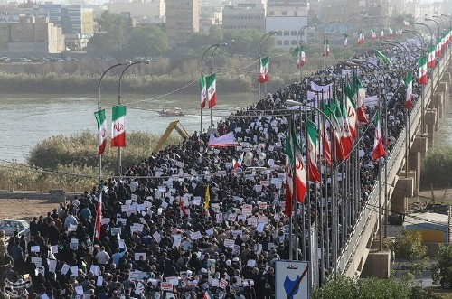 Iran stages pro-government rallies, cleric urges firm punishment for protest leaders