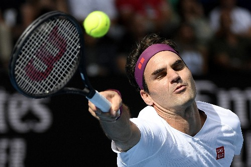 The Latest: Federer saves 7 MPs to reach Aussie Open semis