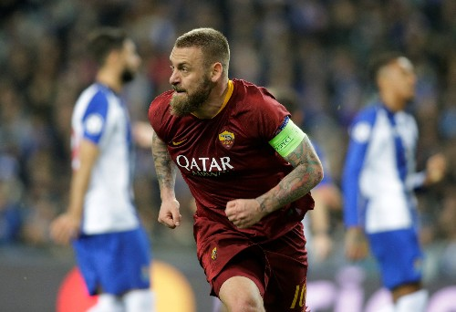 Soccer: De Rossi to leave Roma after 18 years