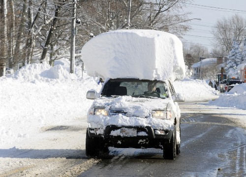Blizzard Blankets Buffalo: In Pictures