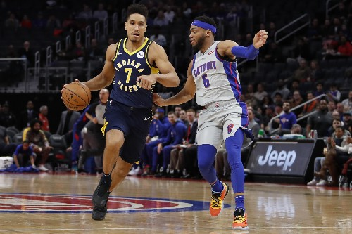 Pistons earn 3rd win over Pacers this season