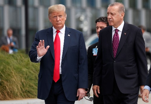 Trump, Erdogan discuss working group on Russian S-400 missile system
