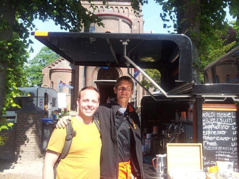 samen met sander de wilde in Heynen.