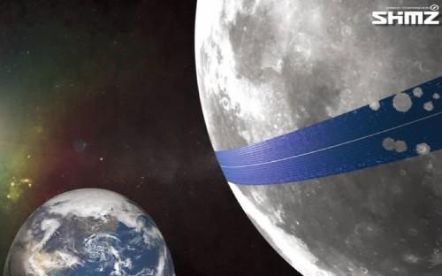 Japanese firm plans 250 mile-wide solar panel belt around Moon