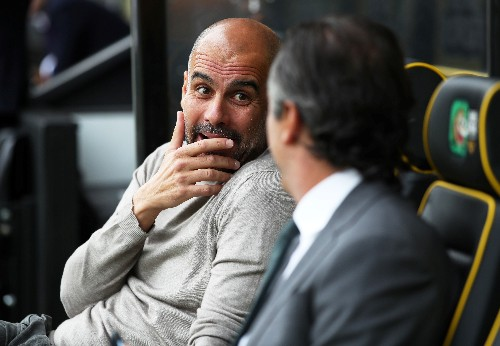 """We can't win all the time,"" says glum Guardiola"