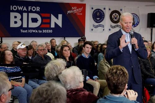 Biden looks to rural Iowa to catch fast-rising Buttigieg