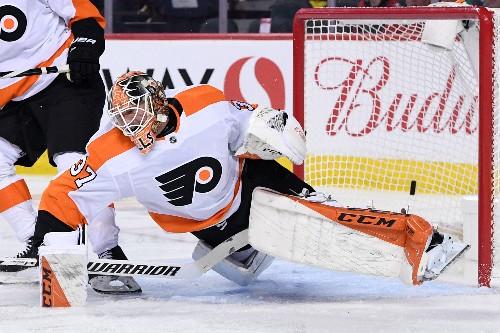Frolik nets 1st of season as Flames beat Flyers