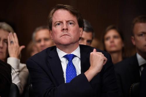 Democrats sue to compel ex-White House counsel McGahn's testimony in Trump-Russia probe