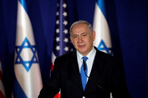 Israeli PM Netanyahu says will cut short trip to U.S. after meeting Trump
