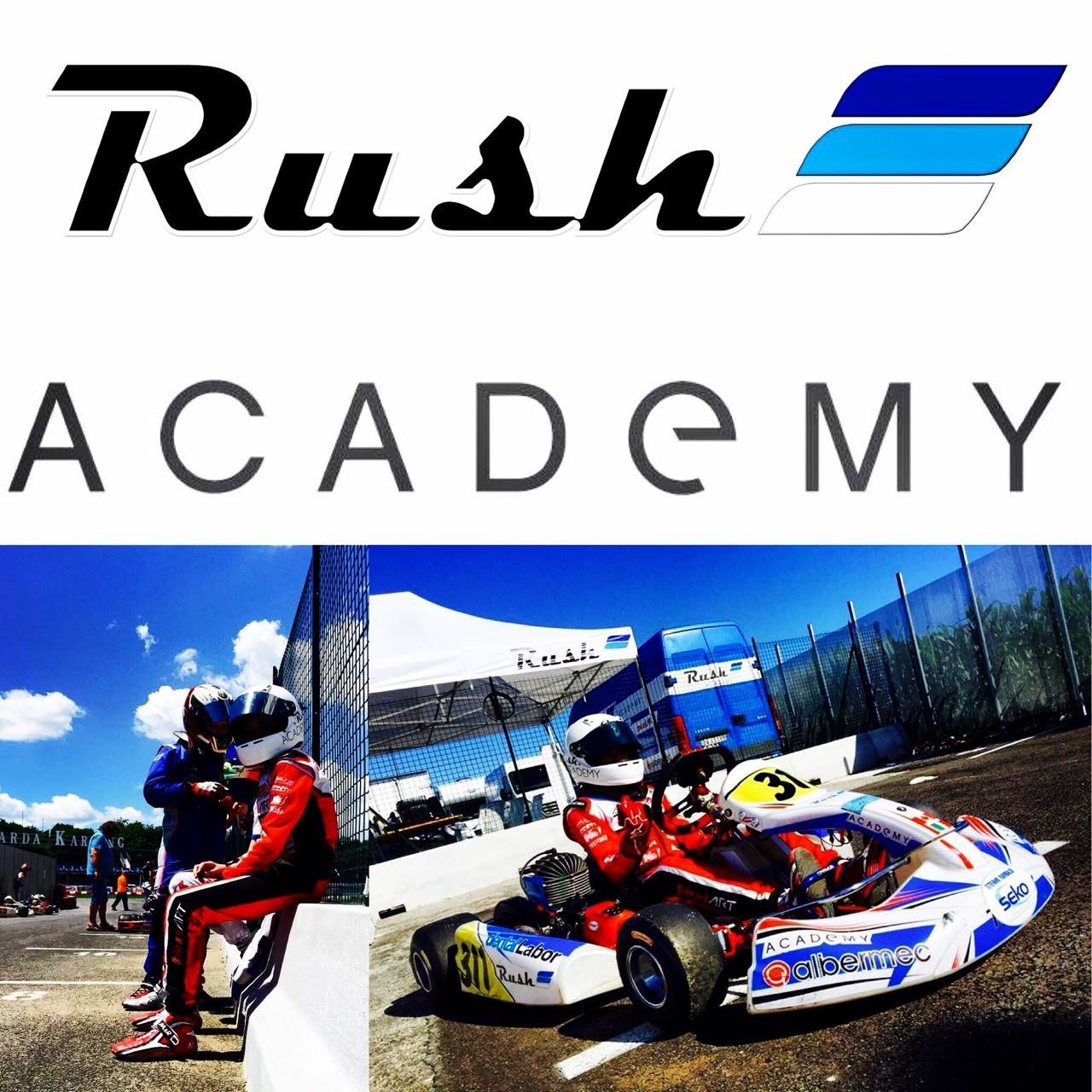 Today race 4 Easykart... Are you ready? Follow us !!! #rushacademy #MurrayJamesFraser311 #birelart #easykart #lonatodelgarda #southgardakarting