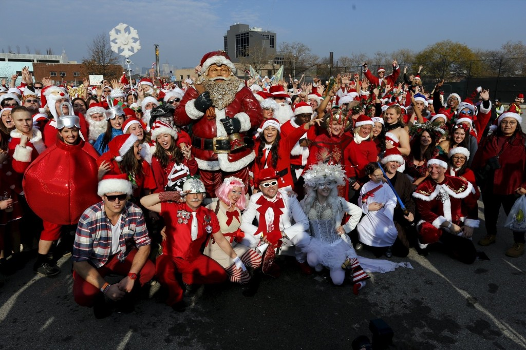 SantaCon 2015 in Pictures