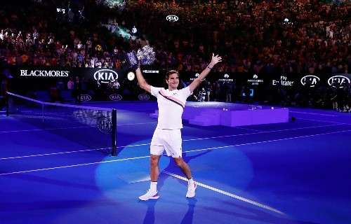 Federer Wins 20th Grand Slam at Aussie Open: Pictures