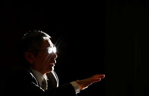 Kuroda says BOJ will debate rising overseas economic risks this week