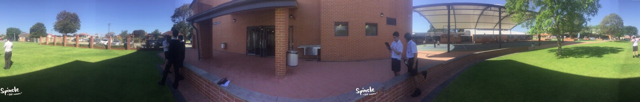 360 photo with 'Spincle'