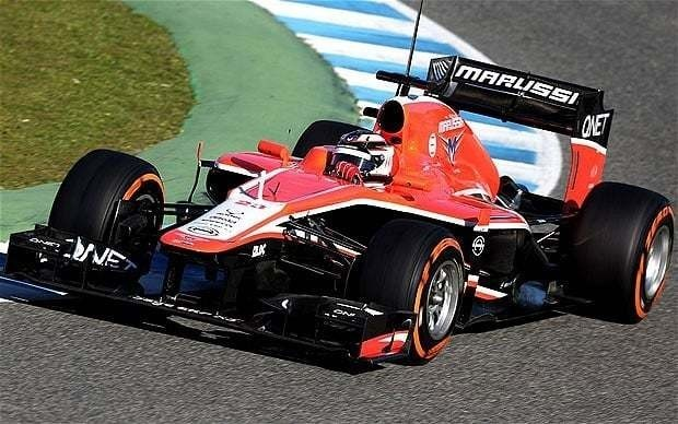 Marussia second Formula 1 team to skid into administration