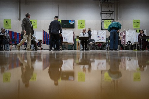 New Hampshire Goes To The Polls: Pictures