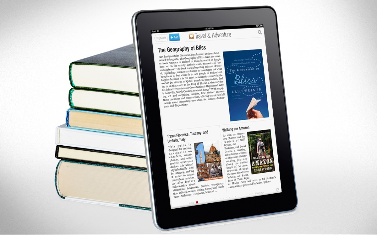 Bookworms, Rejoice! Apple's iBookstore Comes to Flipboard