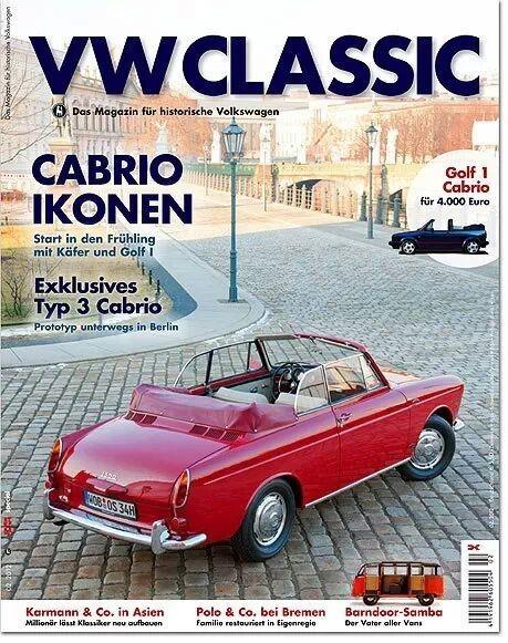 VW Classic - Type 3 Cabrio