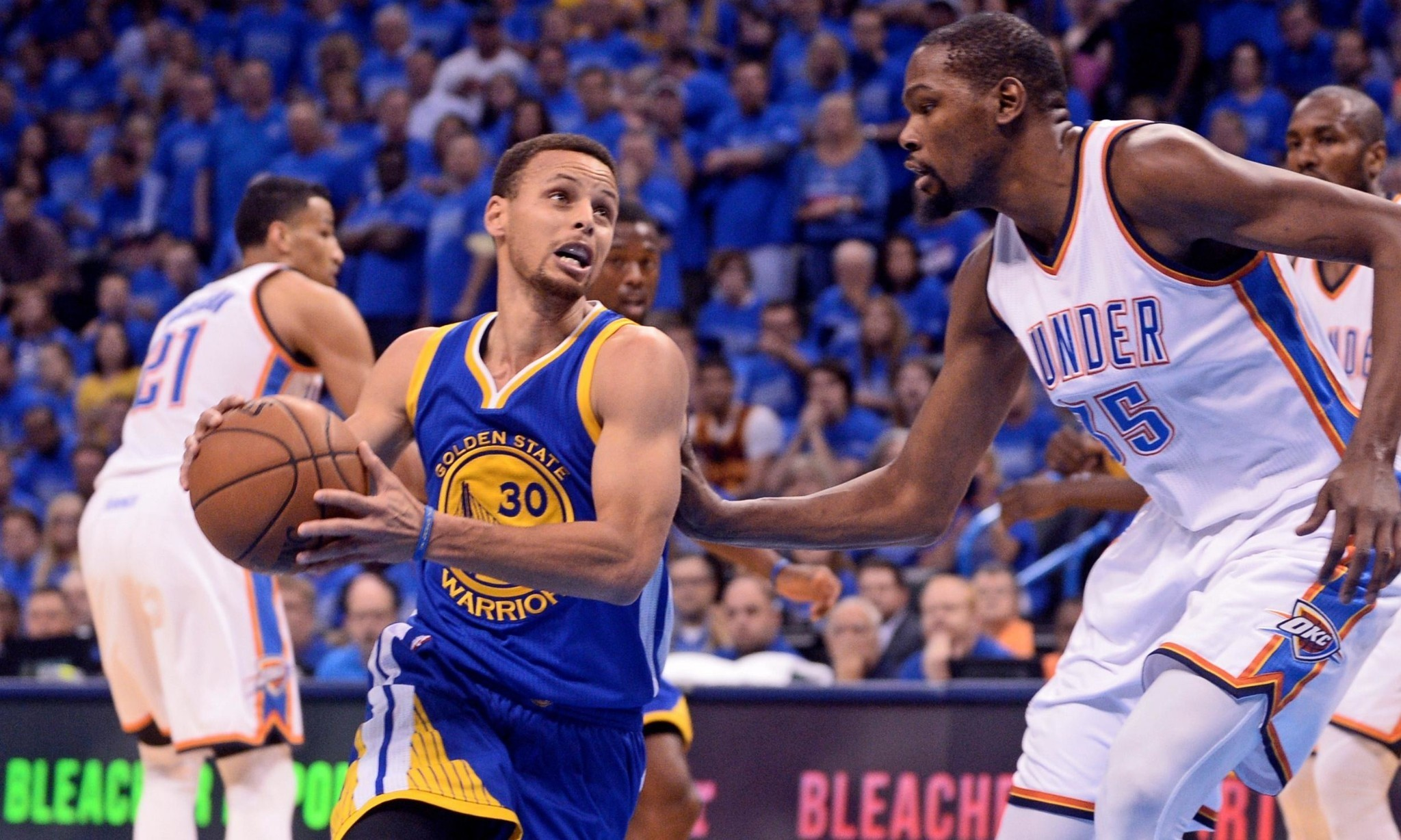Champion Warriors storm back to beat Thunder and force dramatic Game 7