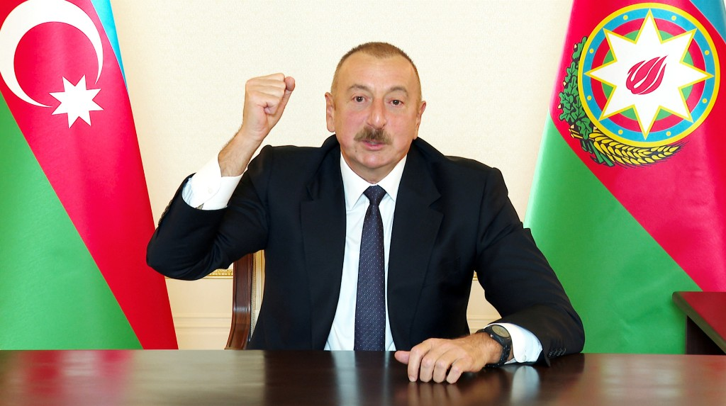 Azeri president says Azerbaijan continues military operation in Nagorno-Karabakh: IFAX