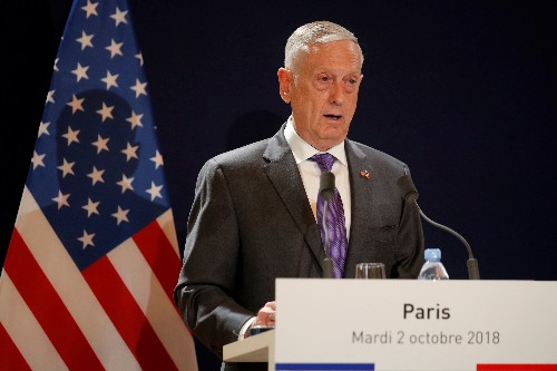 Number of U.S. diplomats doubled in Syria as Islamic State nears defeat: Mattis