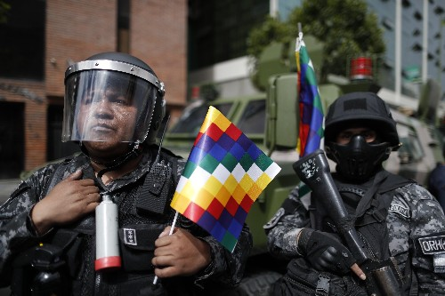 The Latest: State Dept. warns against travel to Bolivia