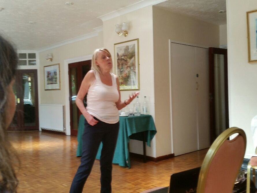 #TheFastPsychic Anne Jirsch Starts off the special weekend for FLP Practitioners