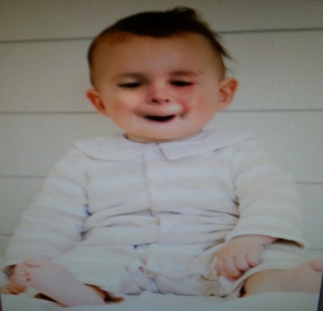 Found B's lost baby pic.....lol