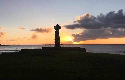 Chill waters, arid land: climate change arrives on Easter Island