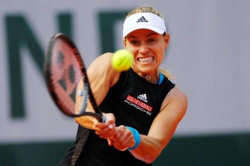 Tennis: Kerber leads high-powered trio through in Eastbourne