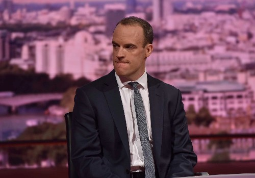 Former Brexit minister Raab: Hard to see how PM May can lead on