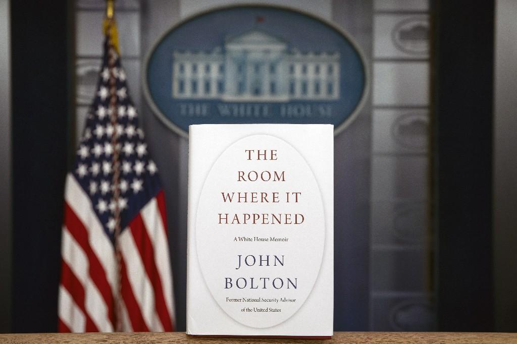 Former staffer: White House politicized Bolton book review