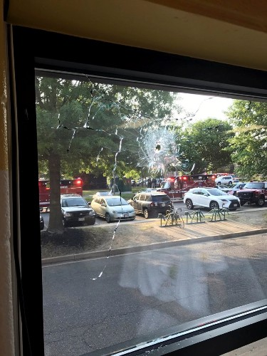Shooting at Baseball Field near DC: Pictures