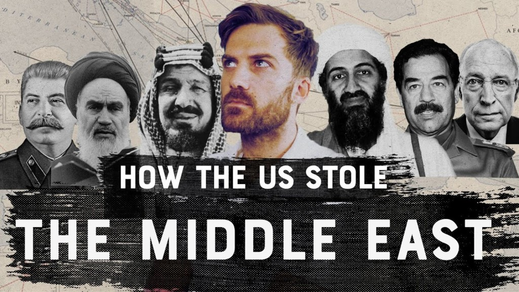 How The U.S. Stole the Middle East.