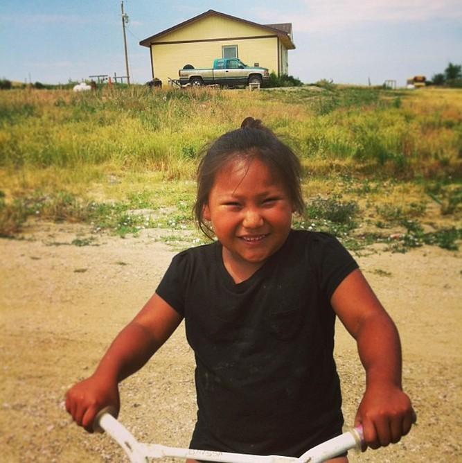 Through a Child's Eyes: Images From Pine Ridge Reservation