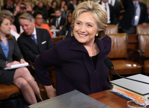 Hillary Clinton Testifies Before Congress: Pictures