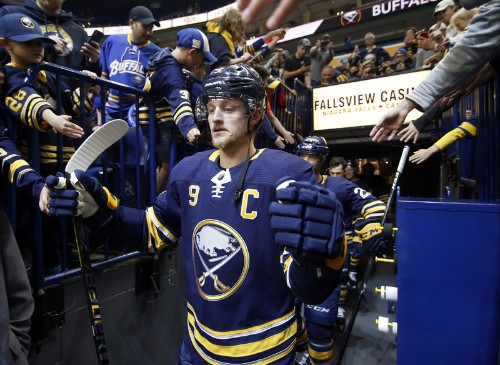 Hutton's 35 saves, Eichel's two goals carry Buffalo past Vegas